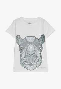 The New - KEITH TEE - T-shirt med print - bright white