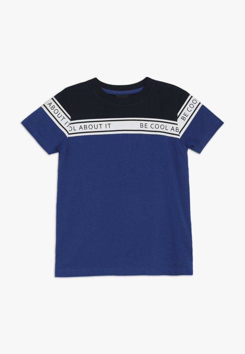 The New - MURRON TEE - T-shirt med print - blue