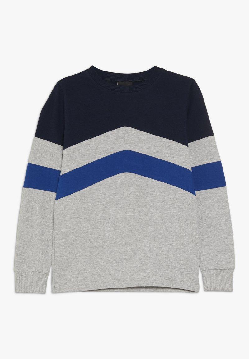 The New - MIRO TEE - Langærmede T-shirts - light grey melange