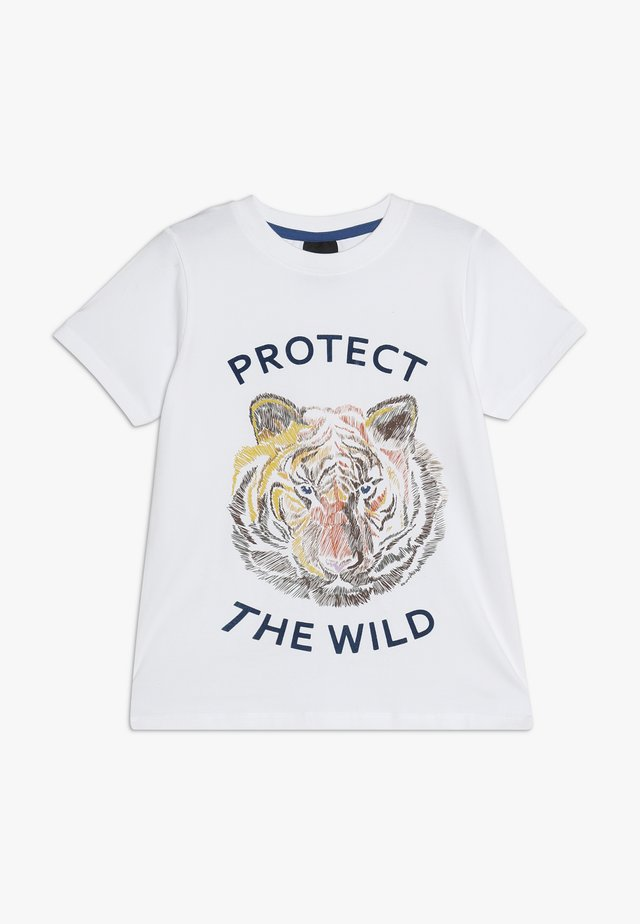 OTELLO TEE - T-shirt con stampa - bright white