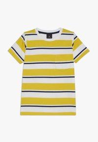 The New - ODWIN - Print T-shirt - sulphur - 0