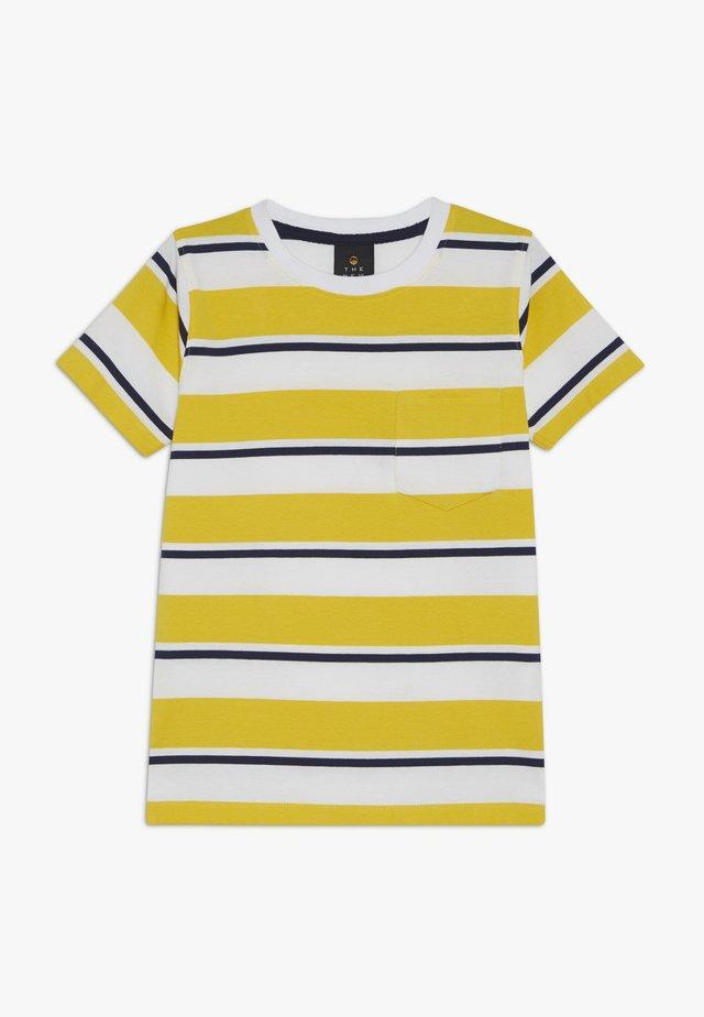 ODWIN - T-shirt med print - sulphur
