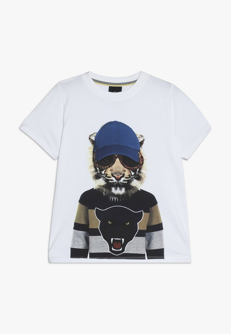 The New - OBER TEE - Print T-shirt - bright white