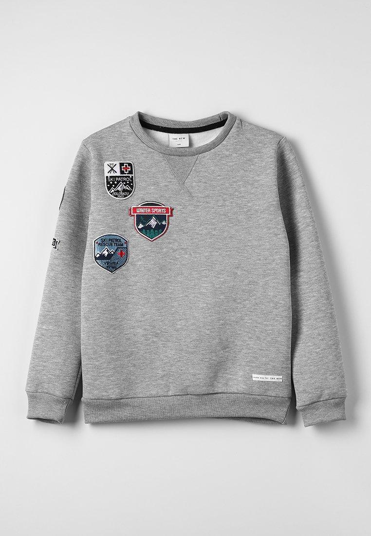 The New - JANIK - Sweatshirt - light grey melange