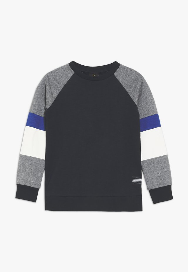 MORGAN - Sweatshirt - dark blue/mottled grey