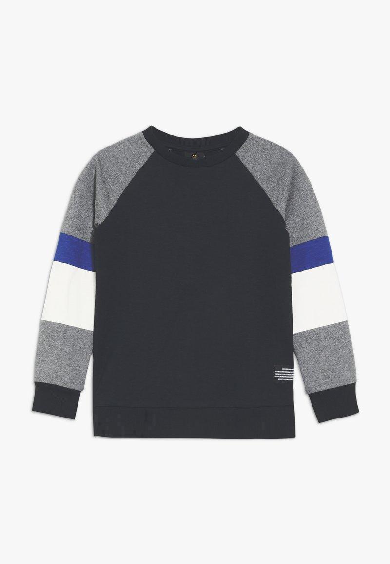 The New - MORGAN - Sweatshirt - dark blue/mottled grey