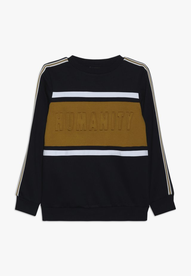 MICKA  - Sweatshirt - dark blue/yellow