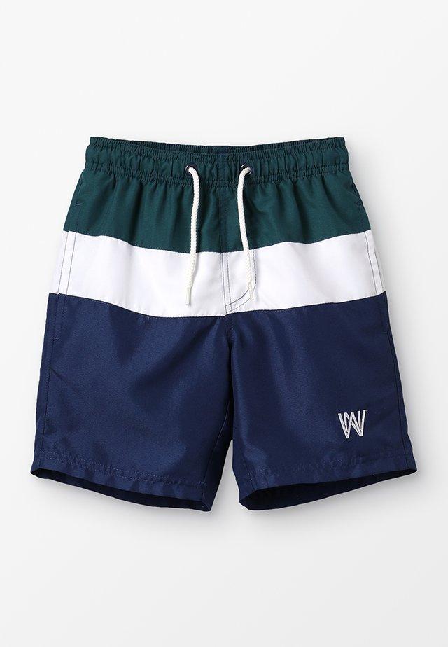KIO SWIM SHORTS - Swimming shorts - black iris
