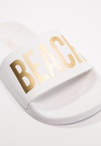 THE WHITE BRAND - BEACH MINIMAL - Pantolette flach - white - 2