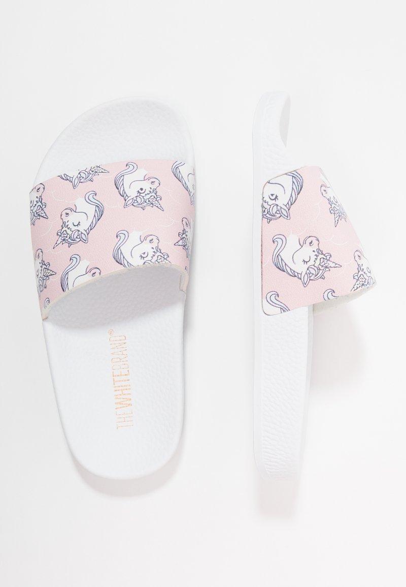 THE WHITE BRAND - CLASSIC UNICORNS - Mules - pink