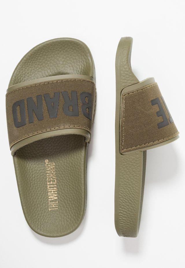MINIMAL ELASTIC - Pantofle - army
