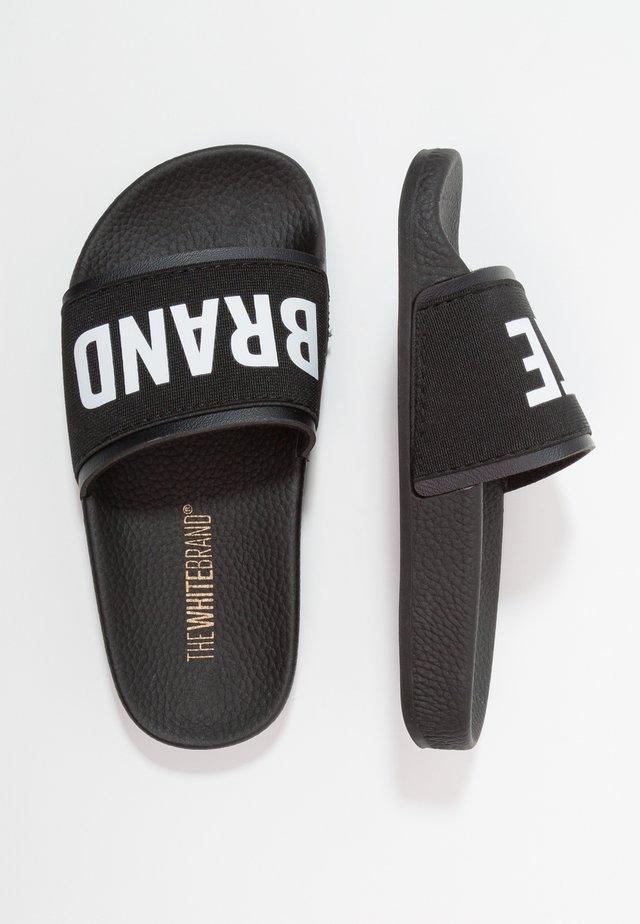 MINIMAL ELASTIC - Pantofle - black