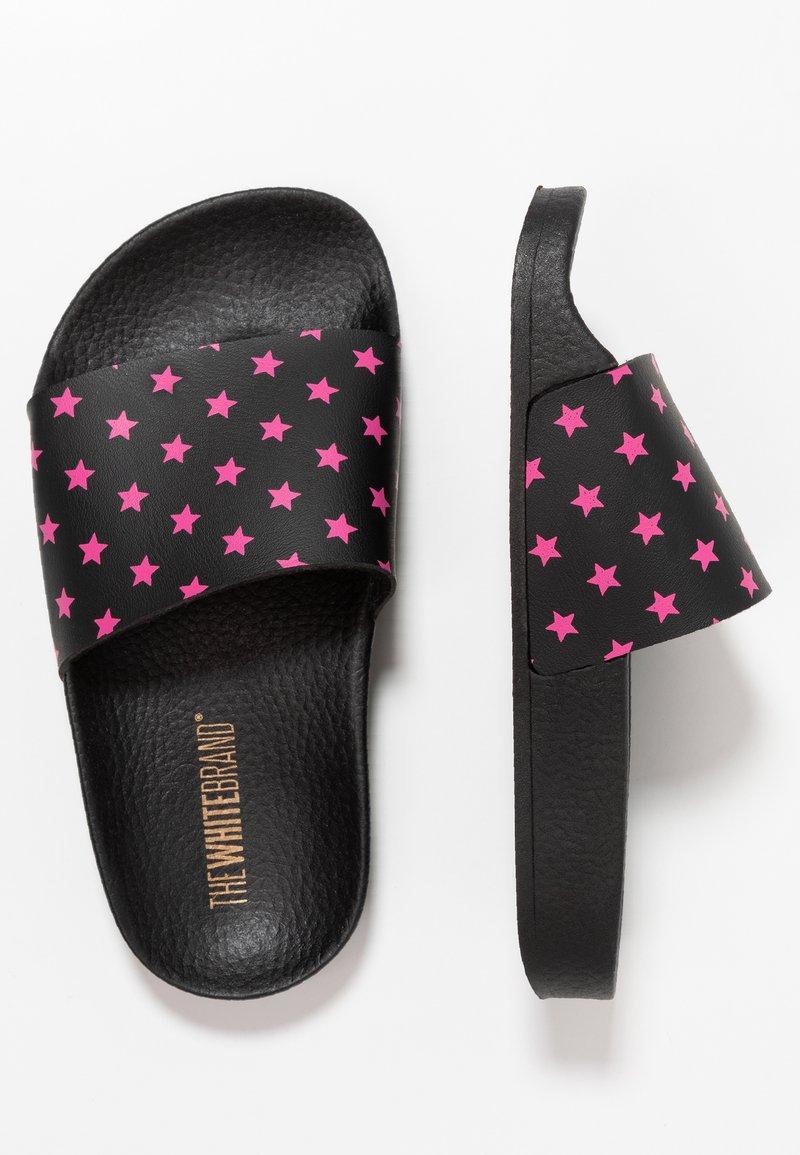 THE WHITE BRAND - MINI STARS - Pantolette flach - neon pink