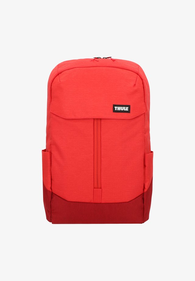 Tagesrucksack - lava/red feather