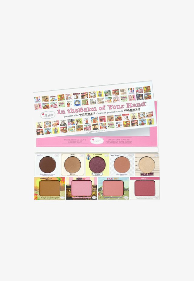 IN THE BALM OF YOUR HAND FACE PALETTE - Sminkpalett - volume2