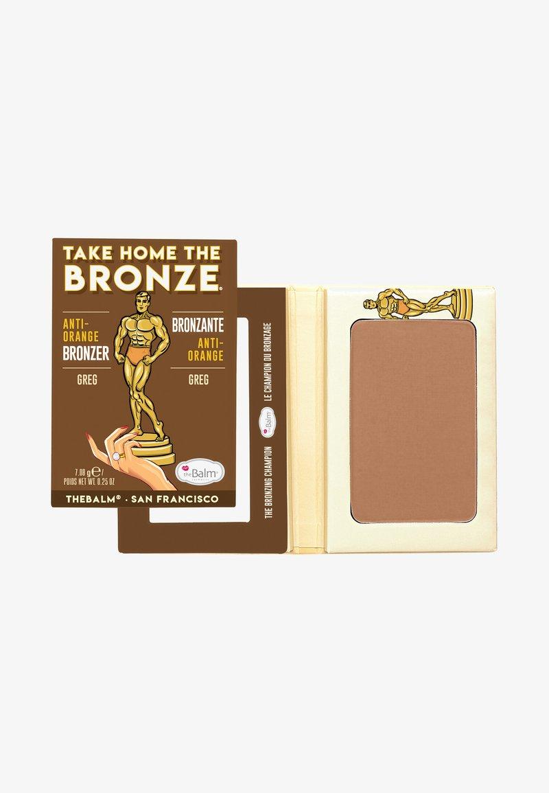 the Balm - TAKE HOME THE BRONZE - Bronzer - greg