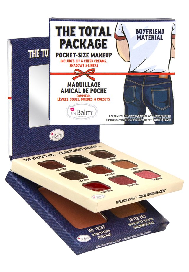 THE TOTAL PACKAGE (BOYFRIEND MATERIAL) - Face palette - multi shades