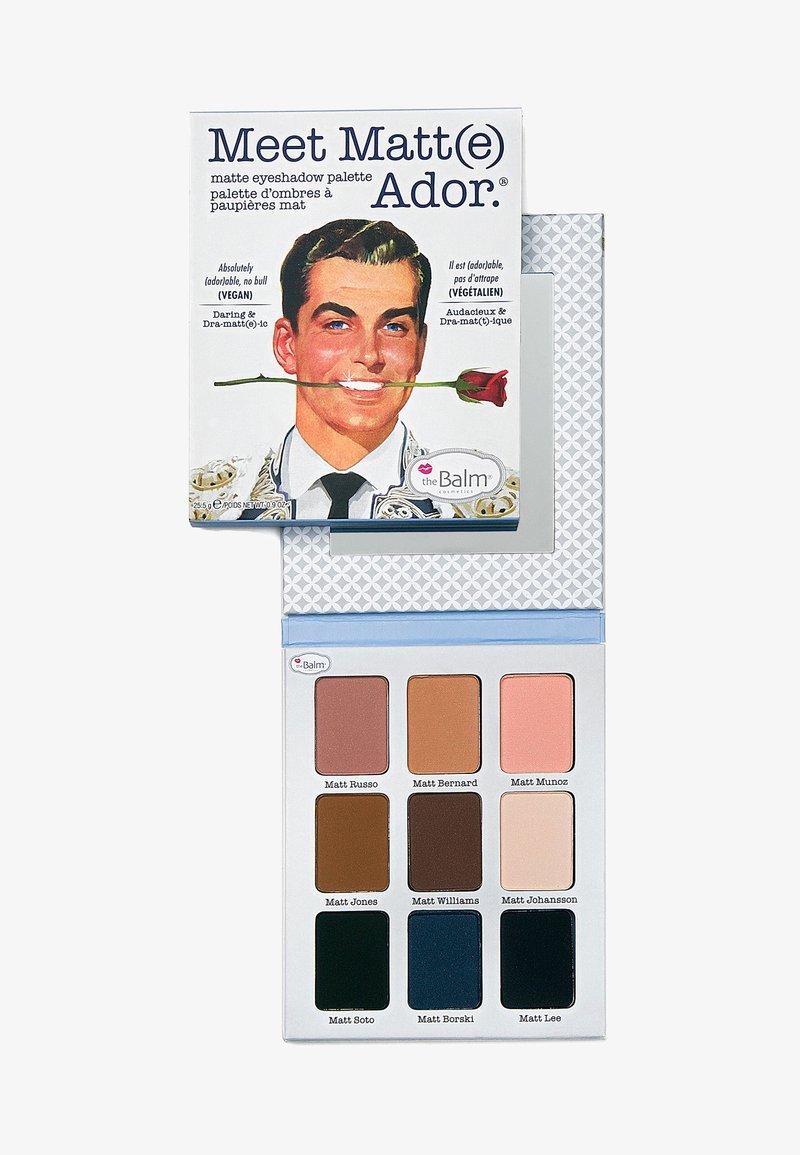 the Balm - MEET MATT(E) EYESHADOW PALETTE - Eyeshadow palette - ador