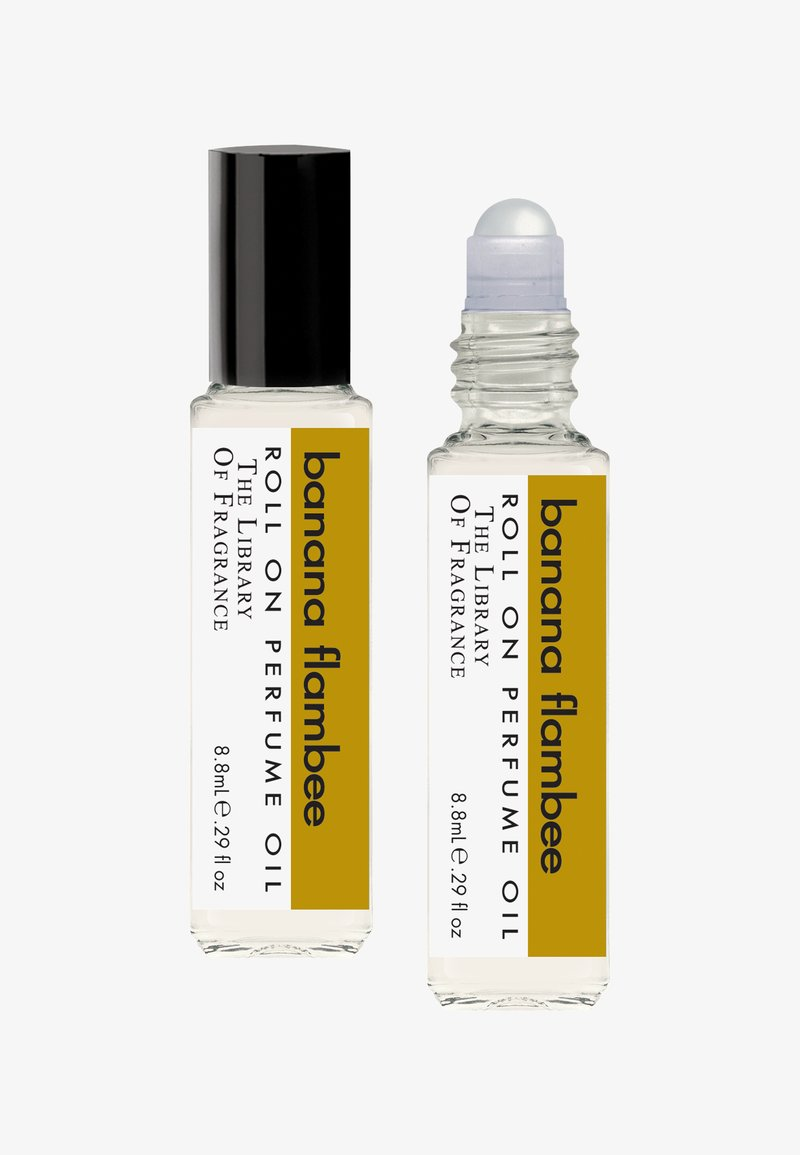The Library of Fragrance - ROLL ON PERFUME OIL - Eau de parfum - banana flambe