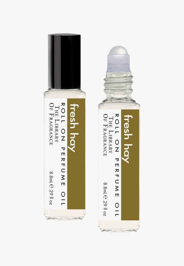 ROLL ON PERFUME OIL - Eau de Parfum - fresh hay
