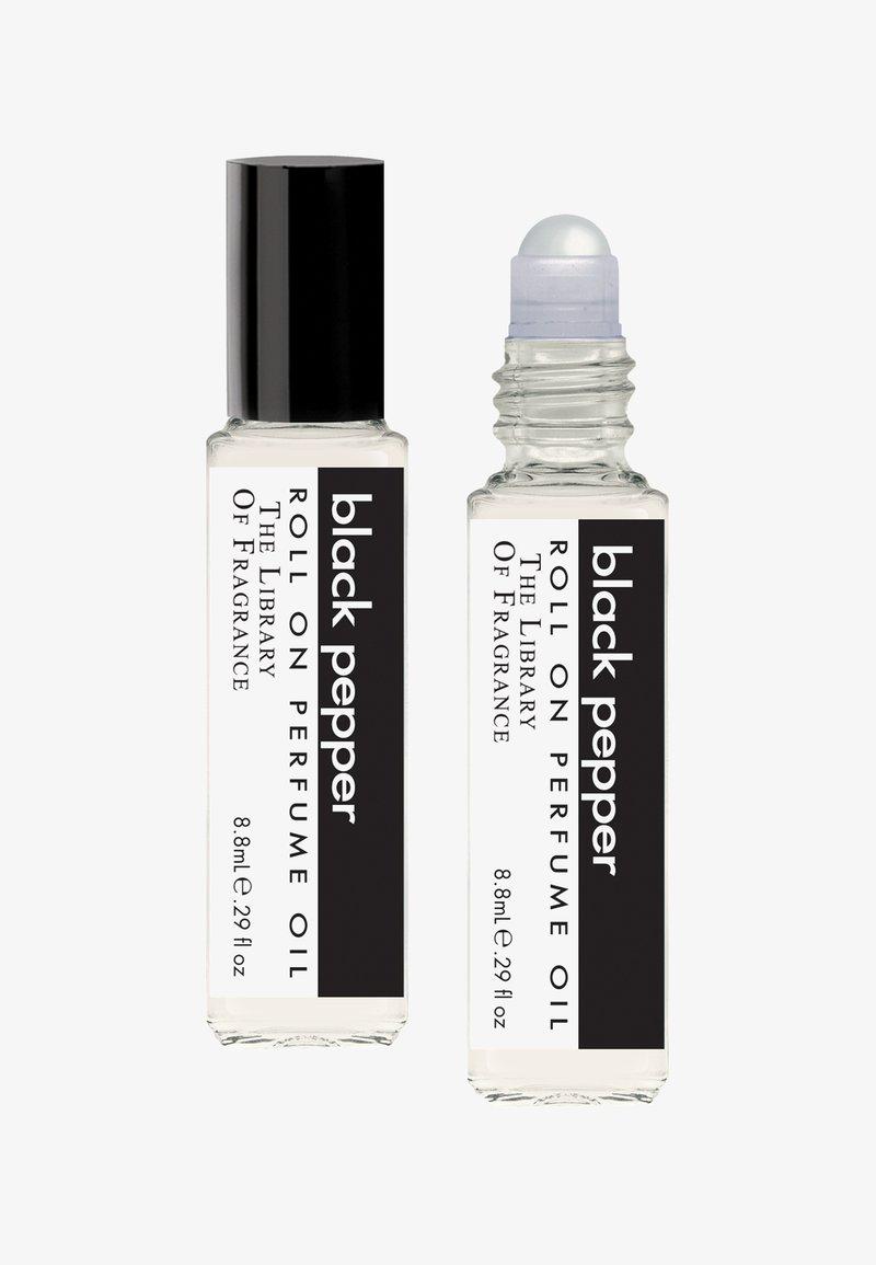 The Library of Fragrance - ROLL ON PERFUME OIL - Eau de parfum - black pepper
