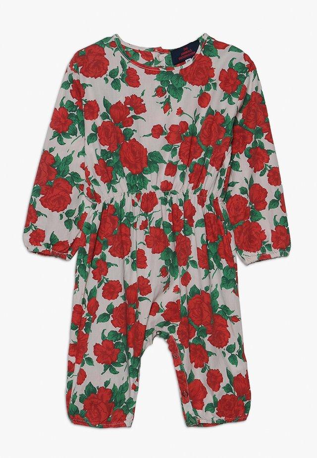 MEERKAT BABIES JUMPSUIT ROSES - Overall / Jumpsuit /Buksedragter - nude