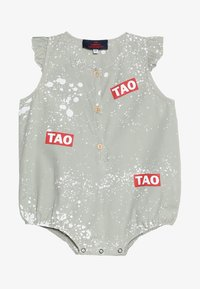THE ANIMALS OBSERVATORY - BUTTERFLY BABIES SPLASHES BABY - Overall / Jumpsuit /Buksedragter - grey - 3