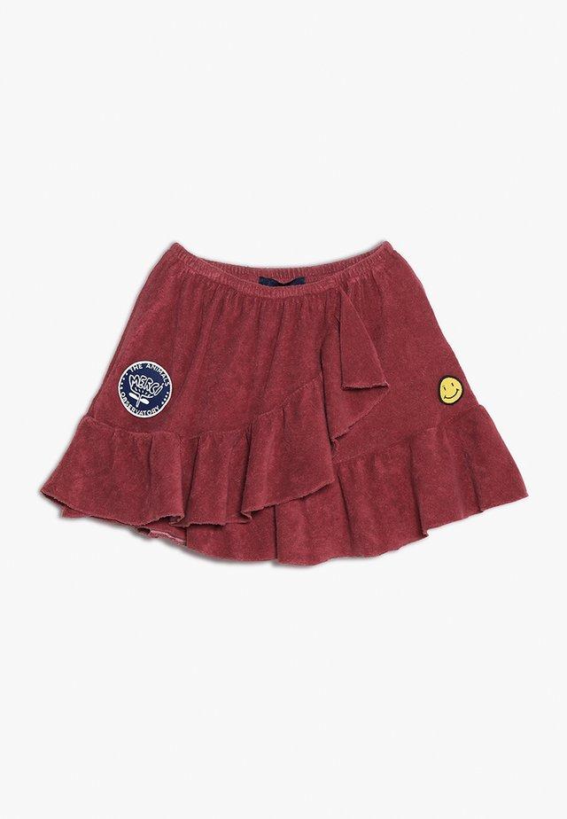 MANATEE KIDS SKIRT - Zavinovací sukně - maroon