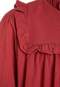 THE ANIMALS OBSERVATORY - DRESSES HUMMINGBIRD - Skjortekjole - red - 2
