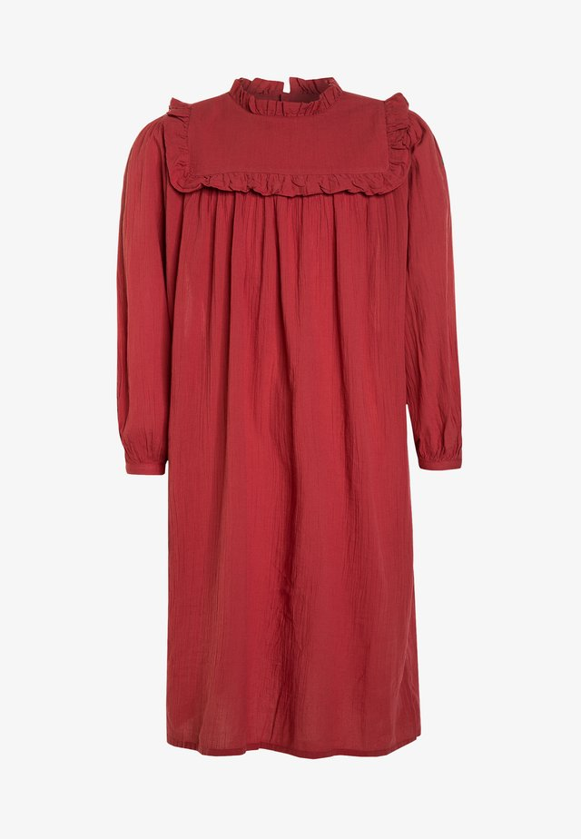 DRESSES HUMMINGBIRD - Skjortekjole - red
