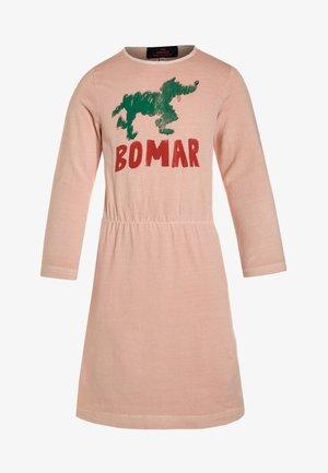 DRESSES CRAB - Žerzejové šaty - rose/green
