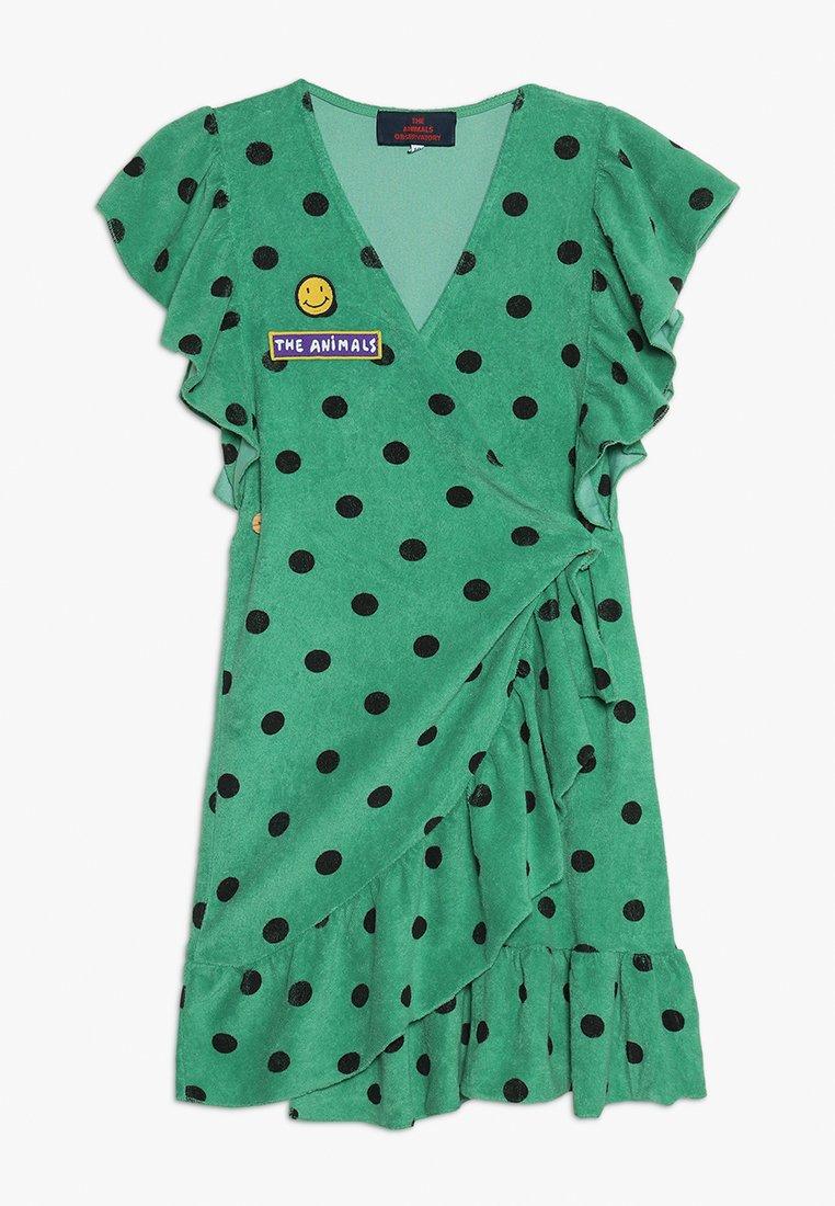 THE ANIMALS OBSERVATORY - WHALE DRESS - Vestido informal - green