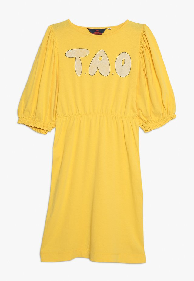 SWALLOW DRESS - Jerseykjoler - yellow