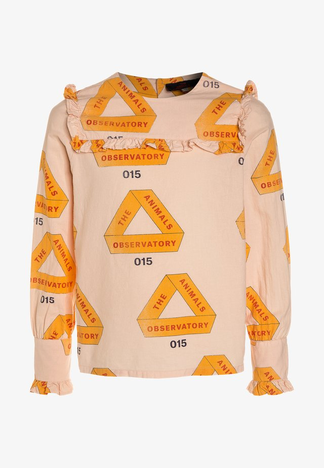 GADFLY KIDS TRIANGLES - Blouse - rose