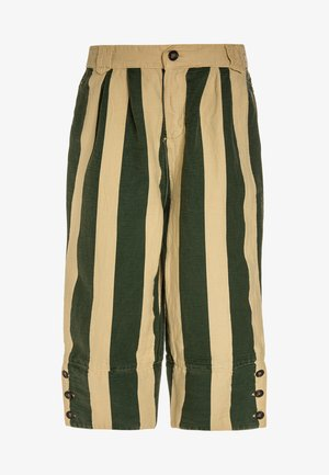 ELEPHANT KIDS PANTS STRIPES - Kalhoty - yellow/maroon