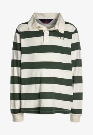 EEL KIDS STRIPES - Poloshirts - white green