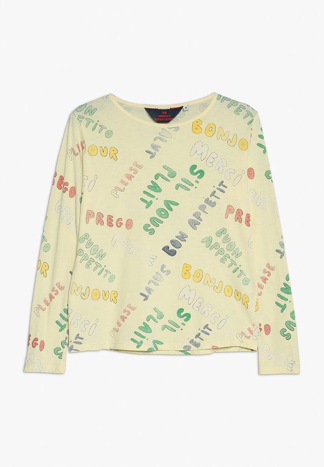 DEER KIDS - Långärmad tröja - yellow