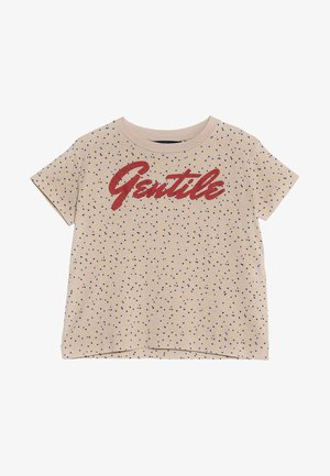 ROOSTER KIDS  - Print T-shirt - toasted almond