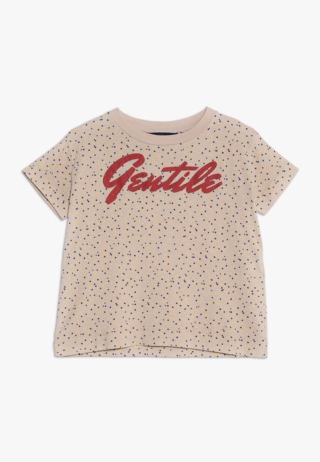 ROOSTER KIDS  - T-shirt con stampa - toasted almond