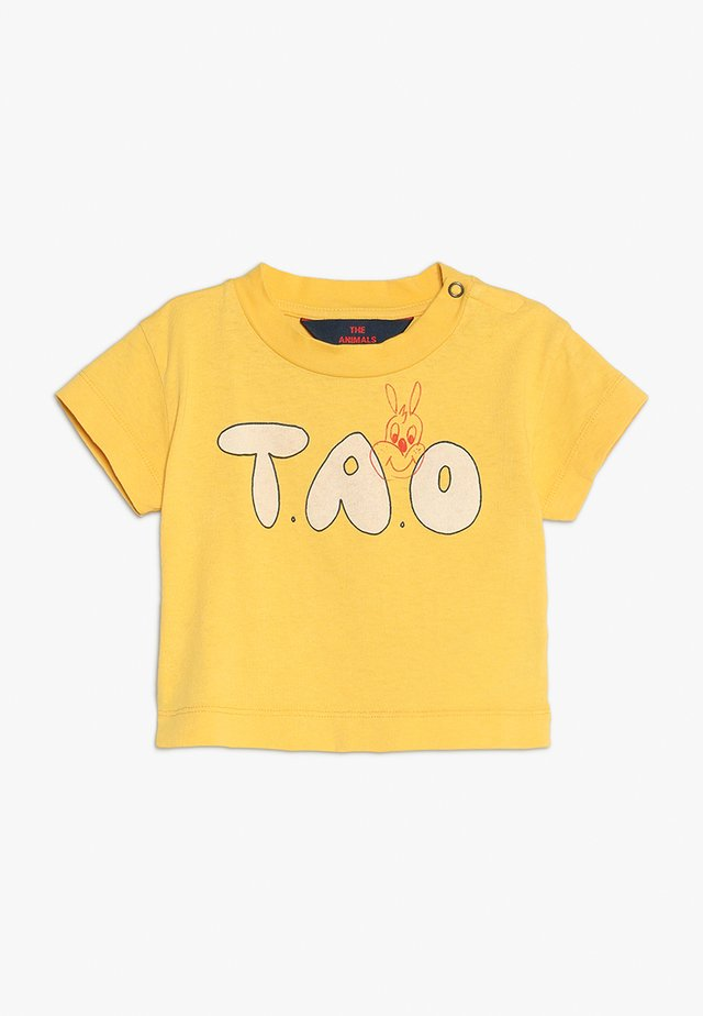 ROOSTER BABIES TAO BABY - T-shirt print - yellow