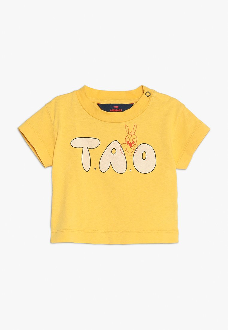 THE ANIMALS OBSERVATORY - ROOSTER BABIES TAO BABY - Print T-shirt - yellow