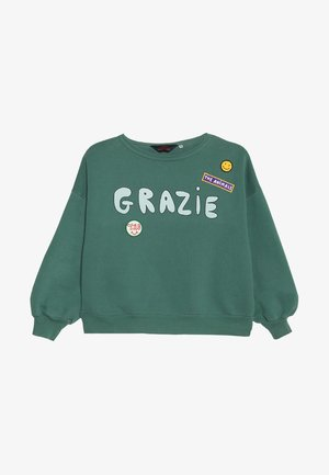 OVERSIZED BIG BEAR KIDS  - Mikina - green grazie