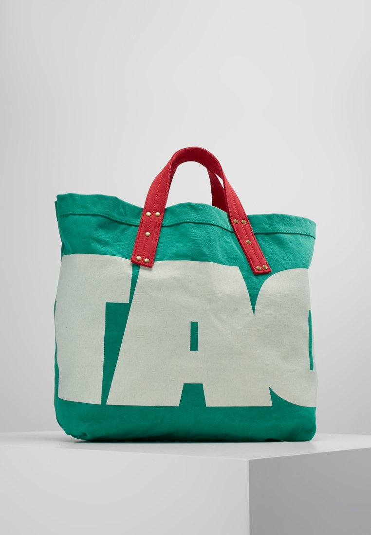 THE ANIMALS OBSERVATORY - SMALL TOTE ON - Shopping bags - electric green tao