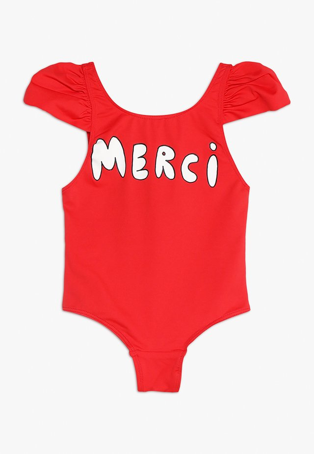 OCTOPUS KIDS SWIMSUIT - Swimsuit - red