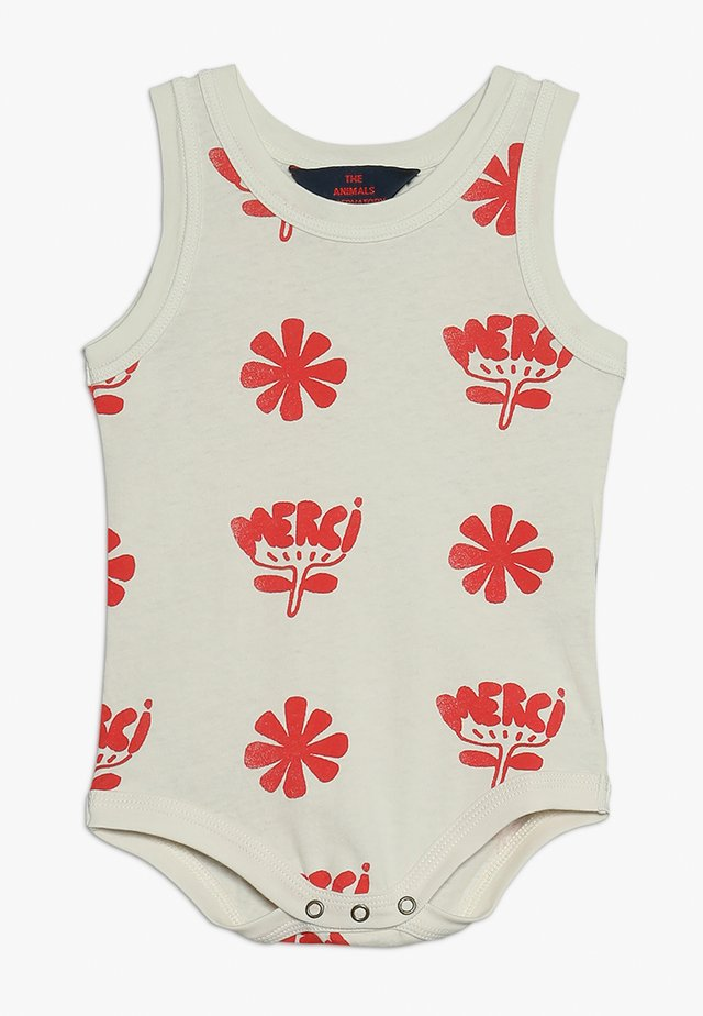 TURTLE BABIES FLOWERS BABY - Body - white