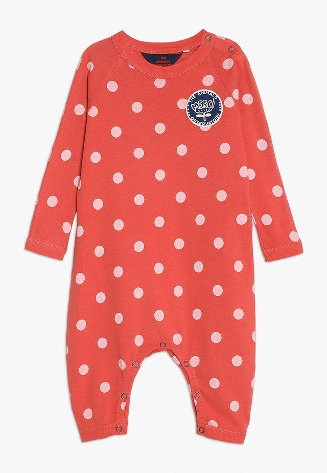 OWL POLKA DOTS BABY - Pyjamas - red