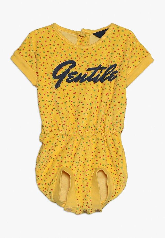 KOALA BABIES DOTS - Body - yellow