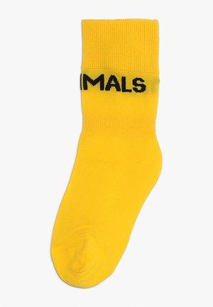 WORM SOCKS - Socks - yellow