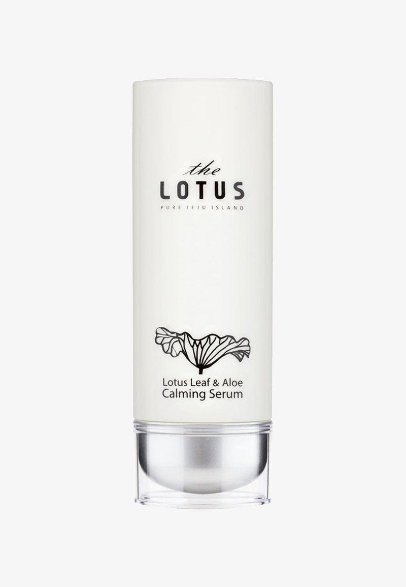 The Lotus - JEJU LOTUS LEAF & ALOE CALMING SERUM 50ML - Serum - -