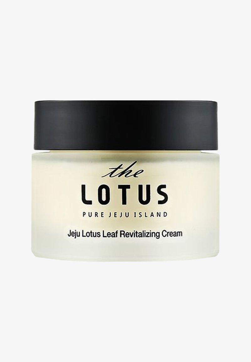 The Lotus - JEJU LOTUS LEAF REVITALIZING CREAM 50ML - Soin de jour - -